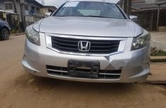 Nigerian Used Honda Accord 2008 Model Silver