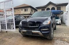 Foreign Used Mercedes-Benz ML 2014 Model Black