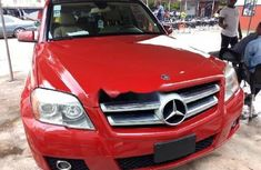 Foreign Used Mercedes-Benz GLK 2010 Model Red