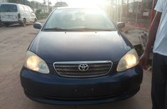 Blue Foreign Used Toyota Corolla Automatic 2006 Model for Sale