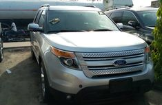 Silver Foreign Used Ford Explorer 2013 Model for Sale