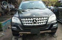 Black Foreign Used Mercedes Benz ML350 2008 Model for Sale