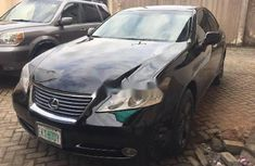 Nigeria Used Lexus ES 2008 Model Black