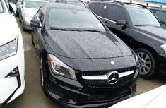 Tokunbo Mercedes-Benz CLA-Class 2016 Model Black