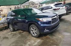 Tokunbo Toyota Highlander 2015 Model Black