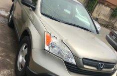 Neat Nigerian used Honda CR-V 2008