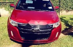 Foreign Used Ford Edge 2013 Model Red