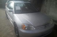 Silver Tokunbo Honda Civic 2002 Model Automatic for Sale in Lagos