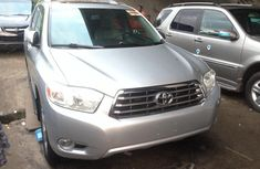 Silver Foreign Used 2008 Toyota Highlander SUV for Sale