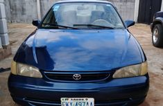 Foreign used Toyota Corolla 2000