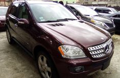 Very Sharp Tokunbo Mercedes Benz ML350 for sale