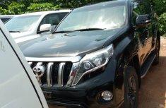 Black Foreign Used Toyota Land Cruiser Prado 2015 Model