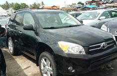 Black Foreign Used Toyota RAV4 2008 Model for Sale