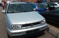 Silver Foreign Used Volkswagen Golf 3 1994 Model for Sale