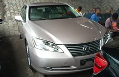 Gold Foreign Used Lexus ES350 2007 Model for Sale