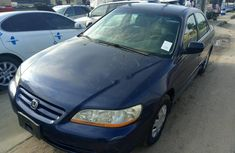 Foreign Used Honda Accord 2002 Model Blue