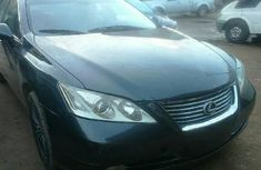 Nigeria Used Lexus ES 2007 Model Black