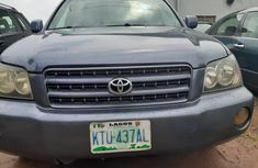 Very Clean Nigerian used Toyota Highlander 2002