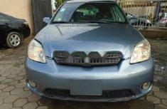 Nigeria Used Toyota Matrix 2005 Model Blue