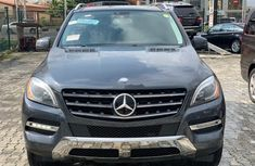 Very Clean Foreign used Mercedes-Benz ML350 2013