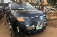 Nigeria Used Ford Edge 2013 Model Black