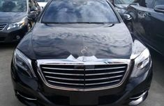 Foreign Used Mercedes-Benz S550 2015 Model Black