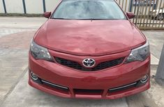Red Foreign Used Toyota Camry 2014 Model