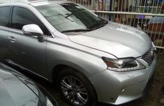 Silver Foreign Used Lexus RX 350 2013 Model for Sale