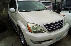 2005 Lexus GX470 Foreign Used White Colour for sale.
