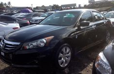 Foreign Used Honda Accord 2009 Model Black Car for Sale