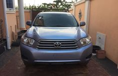 Foreign Used 2008 Blue Toyota Highlander SUV for Sale