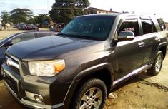 Grey Foreign Used Toyota 4 Runner 2010 Model for Sale