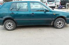 Neat Tokunbo 1998 Volkswagen Golf 3 Manual
