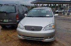 Nigeria Used Toyota Corolla 2003 Model