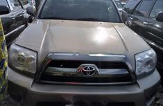Foreign Used Toyota 4-Runner 2007 Model Gold