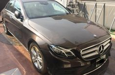 Neat Nigerian used Mercedes-Benz E200 2017