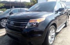 Tokunbo Ford Explorer 2012 Model Black