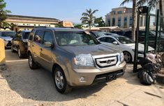 Foreign Used Honda Pilot 2011 Model Gold