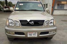 Foreign Used 2001 Lexus LX Automatic
