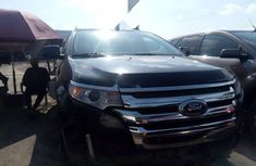 Foreign Used Ford Edge 2012 Model Black