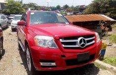 Tokunbo Mercedes-Benz GLK 2011 Model Red