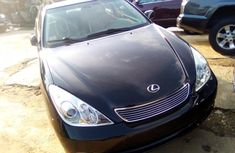 Foreign Used 2005 Model Lexus ES 330 Black for Sale