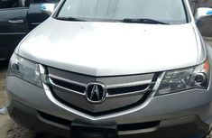 Foreign Used Acura MDX SUV 2008 Model Silver