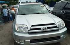 Foreign Used Toyota 4-Runner SUV 2005 Model Black