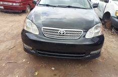 Used Toyota Corolla Sport Edition 2005 Model Black for Sale