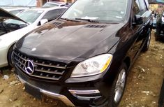 Foreign Used 2012 Mercedes Benz ML 350 Black for Sale
