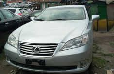 Silver Foreign Used Lexus ES 350 2012 Model for Sale