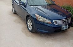 Rugged Nigeria Used Honda Accord 2009 Model Blue Car for Sale