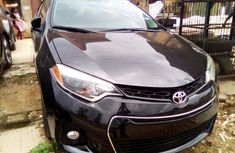Used Toyota Corolla 2014 Model Black for Sale in Lagos