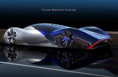 Mercedes-Benz presents its futuristic Le Mans Concept prototype: the Vision Mantilla